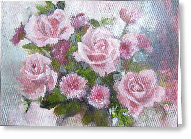 Glorious Roses Greeting Card