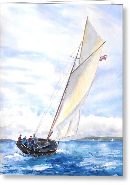 Glorious Sail Greeting Card