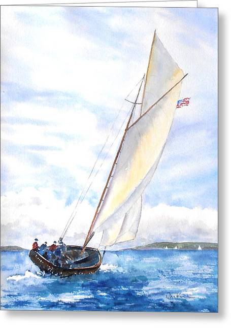 Glorious Sail Greeting Card