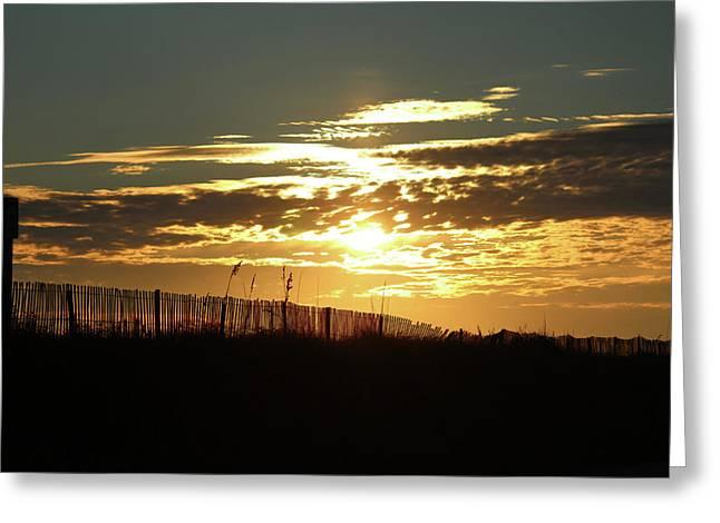 Glorious Sunset Greeting Card