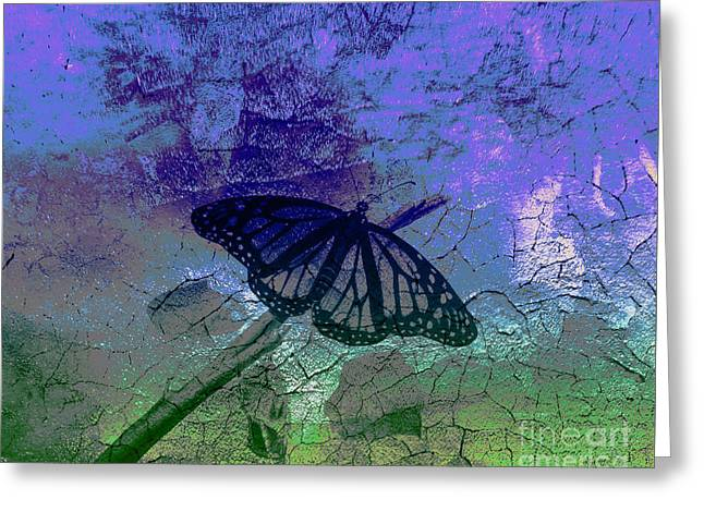 Glory Breaking Out Greeting Card by Beverly Guilliams