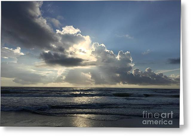 Glory Day Greeting Card by LeeAnn Kendall