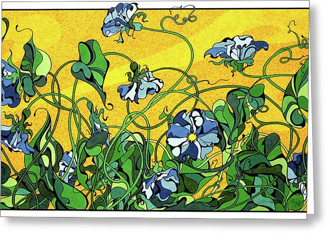Glory In The Flower Greeting Card