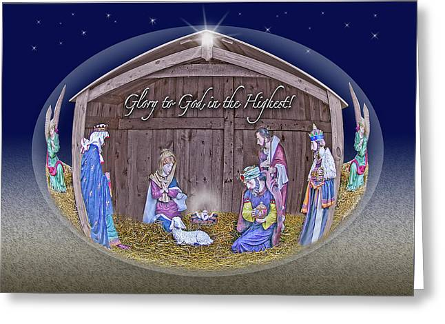 And The Word Became Flesh... Greeting Card