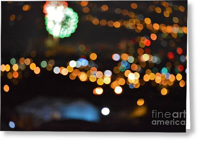 Glow In The Night Greeting Card