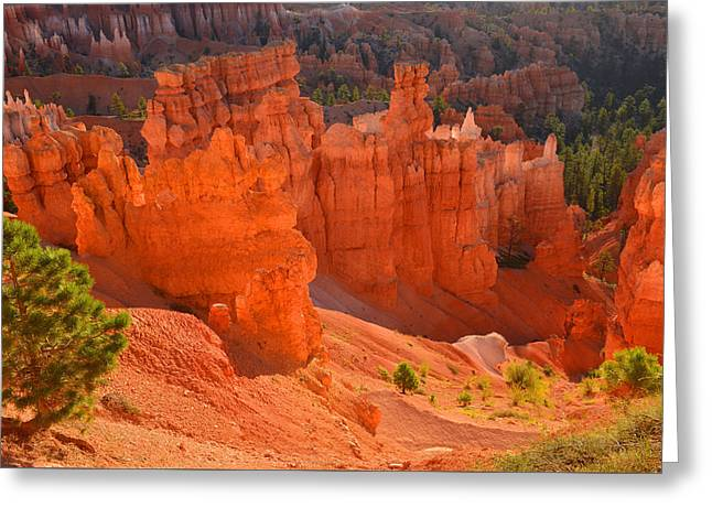 Greeting Card featuring the photograph Fairyland Hoodoos by Stephen  Vecchiotti