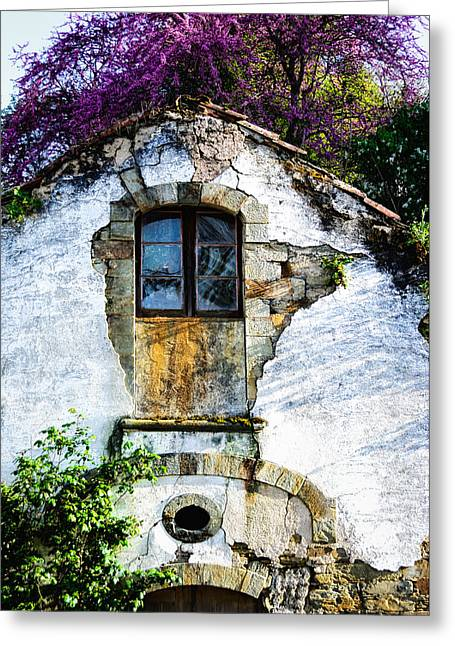 Greeting Card featuring the photograph Glowing Old Window In Portugal by Marion McCristall