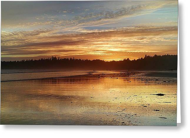Long Beach I, British Columbia Greeting Card by Heather Vopni