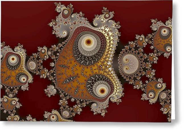 Glynns And Spirals No. 1 Greeting Card by Mark Eggleston