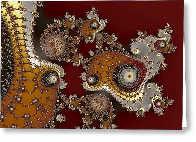 Glynns And Spirals No. 2 Greeting Card by Mark Eggleston
