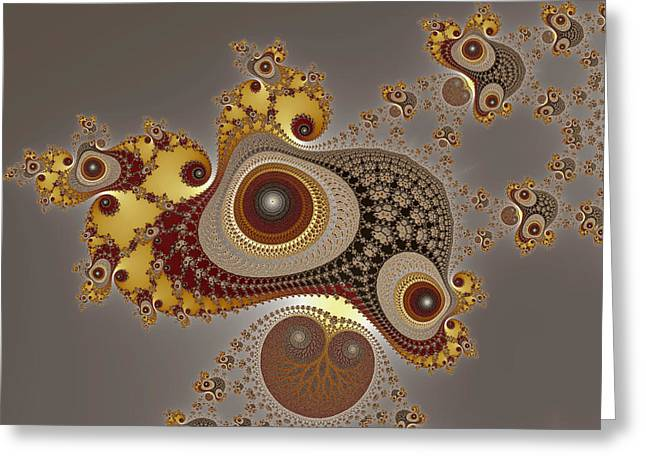 Glynns And Spirals No. 4 Greeting Card by Mark Eggleston