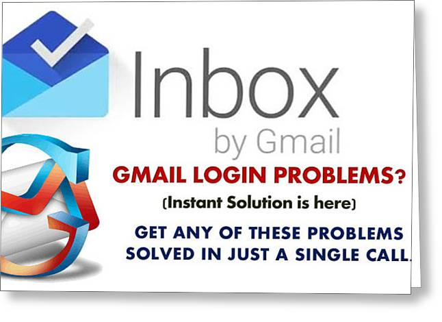 Gmail Help Phone Number 1 855 550 2552 Greeting Card