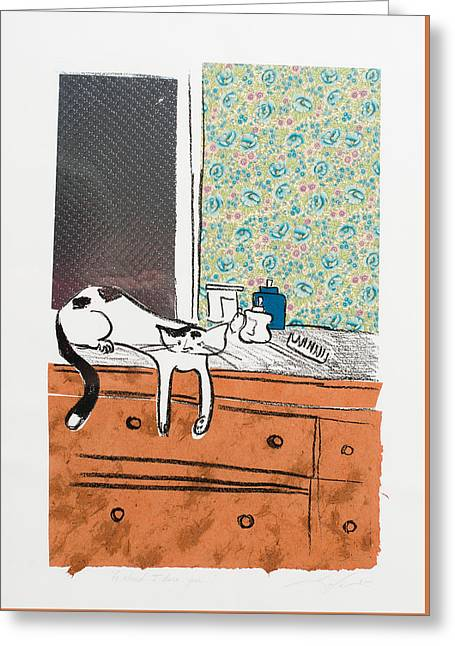 Go Ahead I Dare Ya. Greeting Card