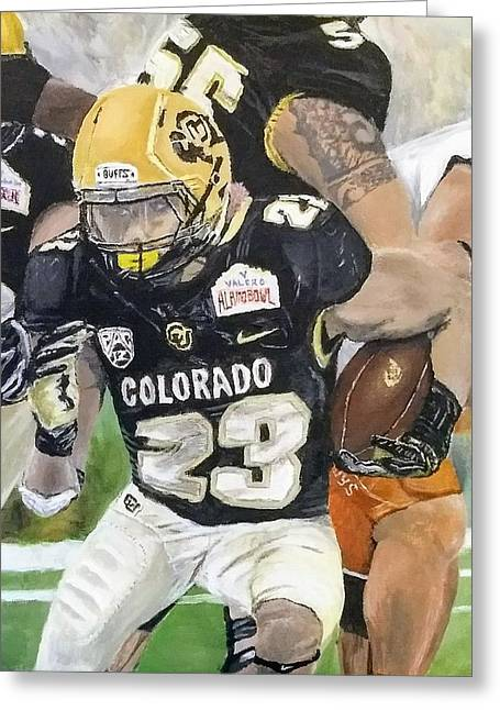 Go Buffs Greeting Card