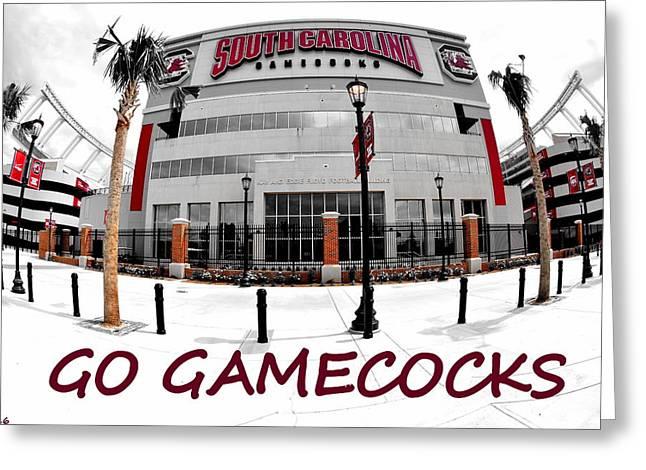 Go Gamecocks Greeting Card
