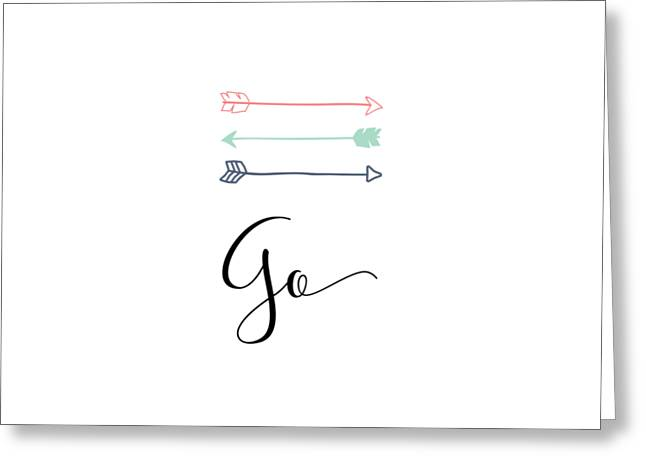 go Greeting Card by Nancy Ingersoll