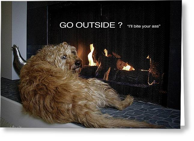 Go Outside ? Greeting Card