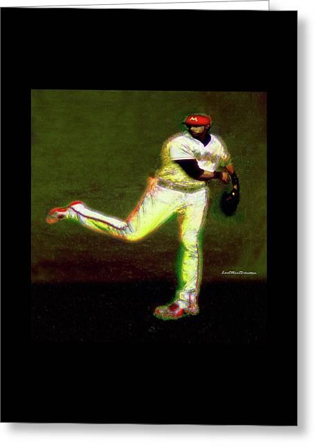 Go Yelich Baseball Art 1 Greeting Card