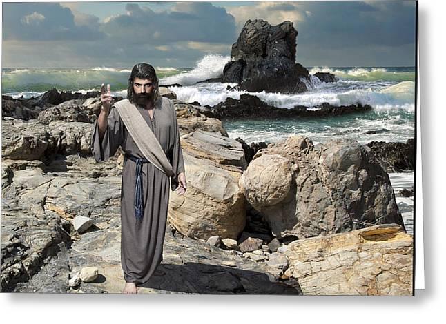 Go Your Faith Has Healed You Greeting Card
