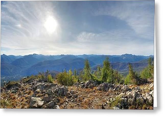 Goat Peak Greeting Card