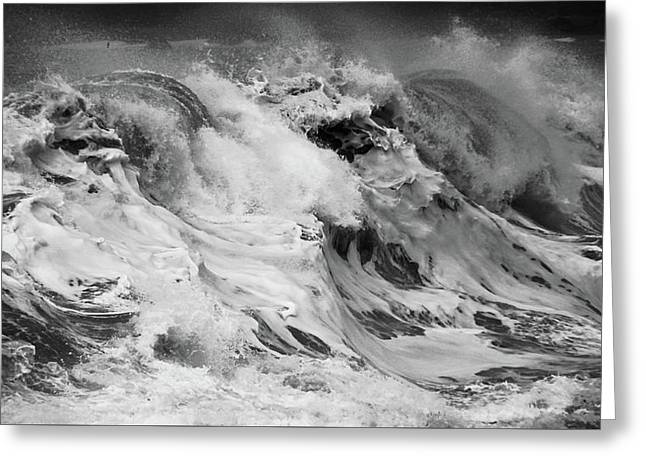 Greeting Card featuring the photograph Goat Rock Beach by Lennie Green