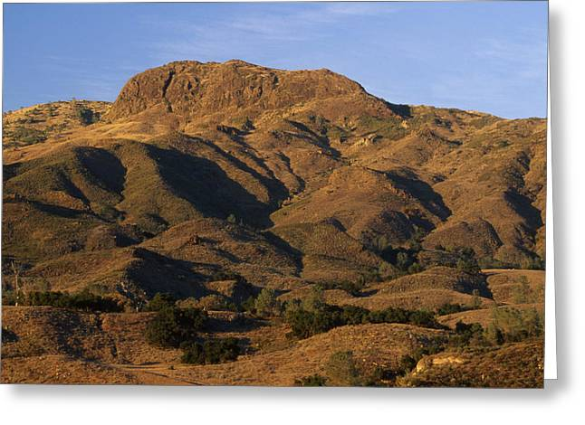 Goat Rock - Los Padres National Forest Greeting Card