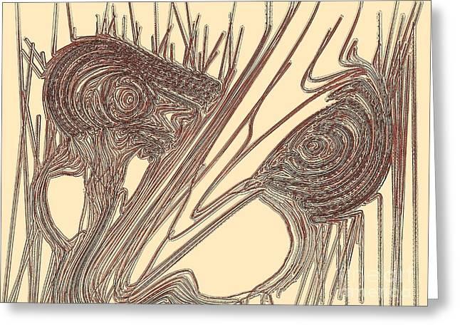 Goblin Greeting Card by Patrick Guidato