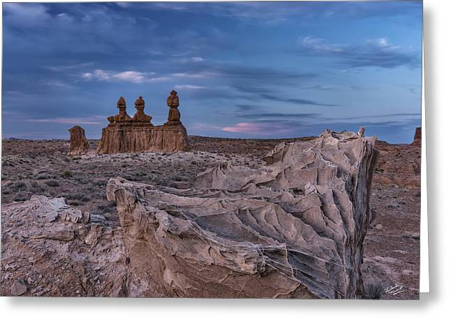 Goblin Valley 3 Greeting Card by Leland D Howard