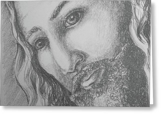 God Became Man Greeting Card