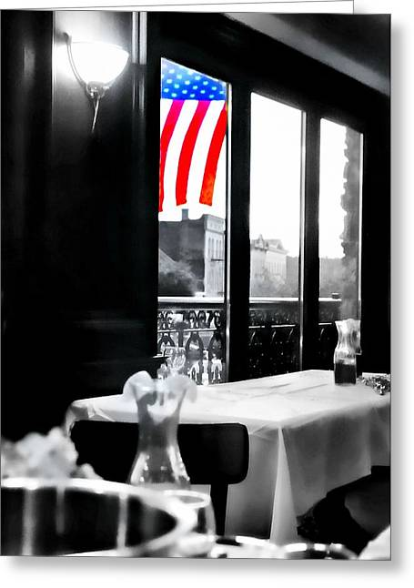 God Bless Our Country Greeting Card