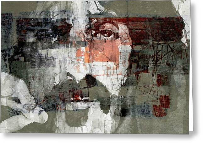God I Think I'm The American Dream  Greeting Card by Paul Lovering