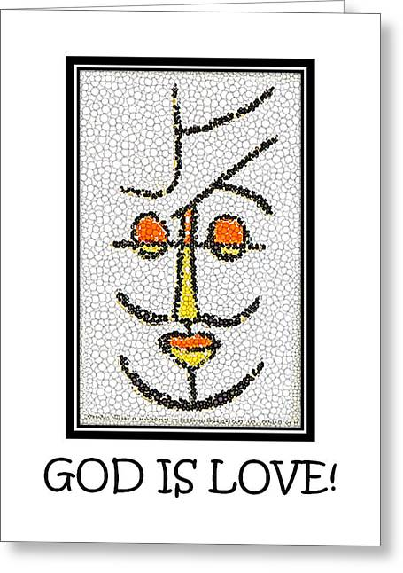God Is Love Greeting Card