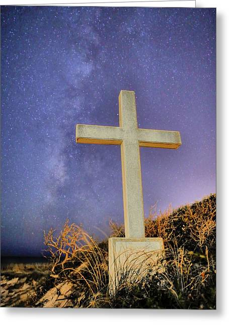 God Greeting Card by JC Findley
