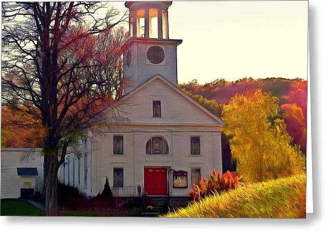 God Shed His Grace On Thee - Unionville Ny Church Greeting Card