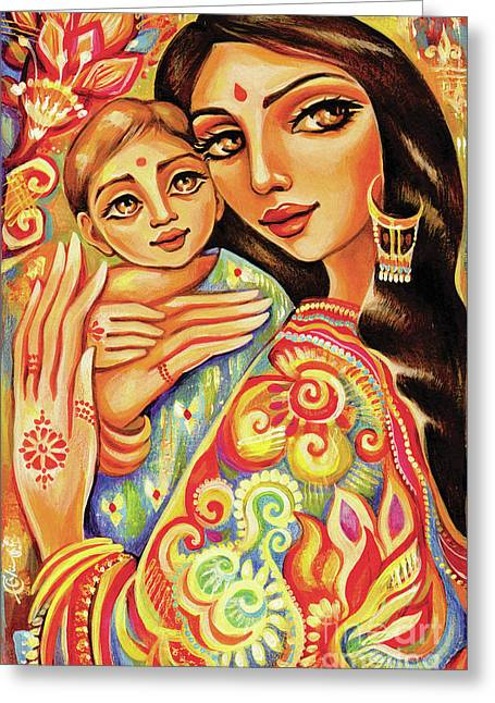 Goddess Blessing Greeting Card