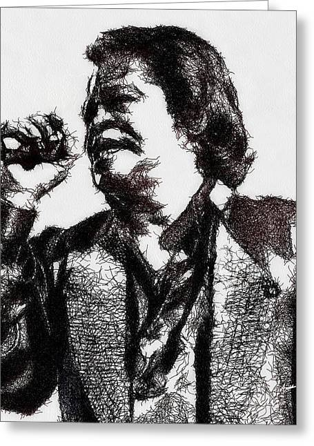 Godfather Of Soul Greeting Card