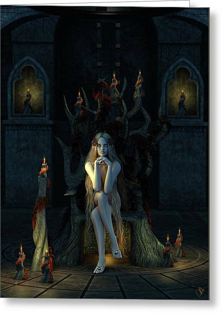 Godiva's Throne Greeting Card by Jestephotography Ltd