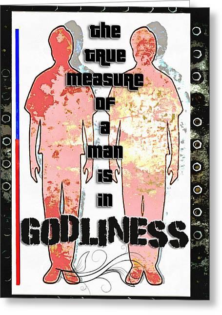 Godliness Greeting Card