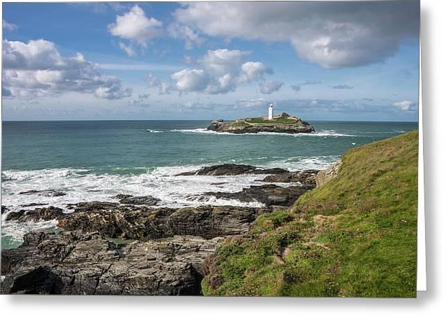 Godrevy Lighthouse 3 Greeting Card