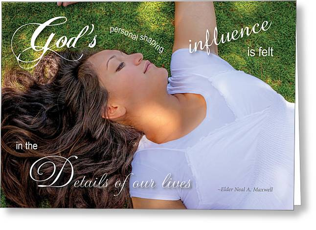 Gods Influence Greeting Card