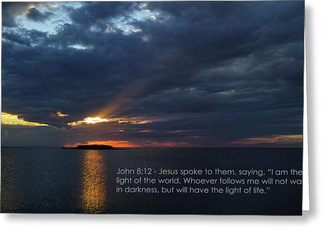 God's Lighthouse  Greeting Card by Roberto Aloi