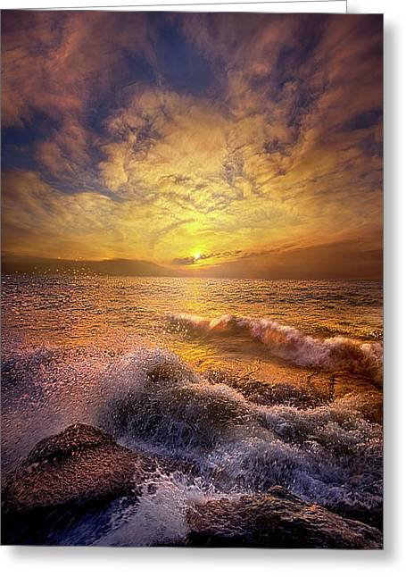 Gods Natural Cure Greeting Card by Phil Koch