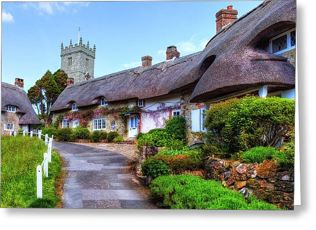 Godshill - Isle Of Wight Greeting Card by Joana Kruse