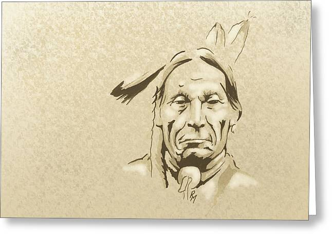 Robert Martinez Greeting Cards - Goes in Lodge Greeting Card by Robert Martinez
