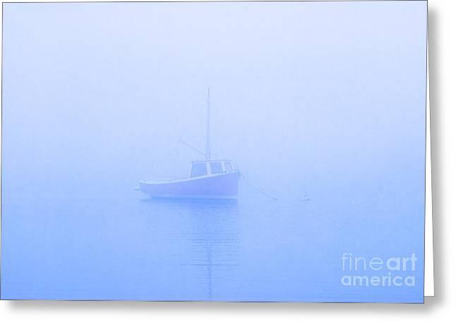 Gog Boat Greeting Card by John Greim