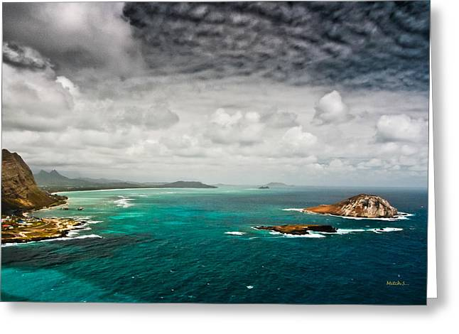 Going Coastal Greeting Card by Mitch Shindelbower