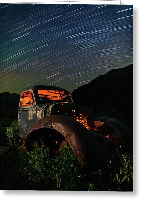 Going Nowhere Fast Greeting Card by Mike Berenson