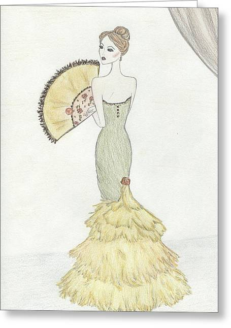 Going To The Ball Greeting Card by Christine Corretti