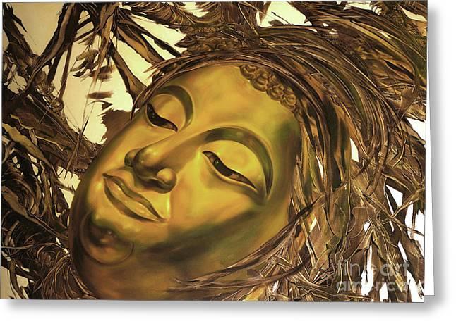 Virtues Of The Buddha Greeting Card