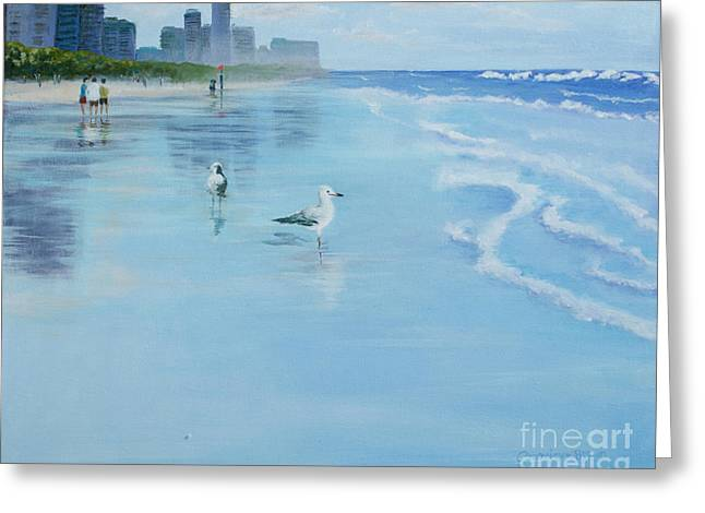 Gold Coast Australia, Greeting Card
